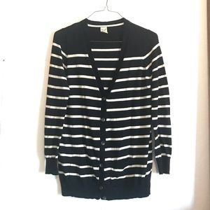 💖 Faded Glory Striped Fall Cardigan Sweater